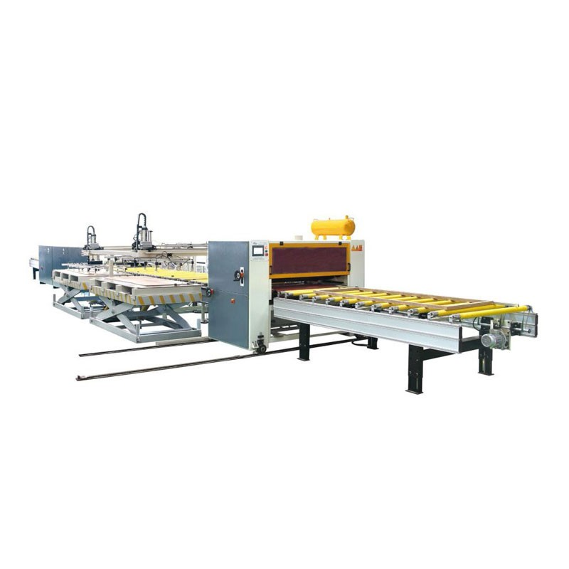 Machine For Wood Panel Laminating