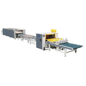 Single-side Honeycomb Plate Lamination Line