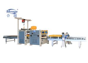 High glossy Transparant PET PUR laminating line