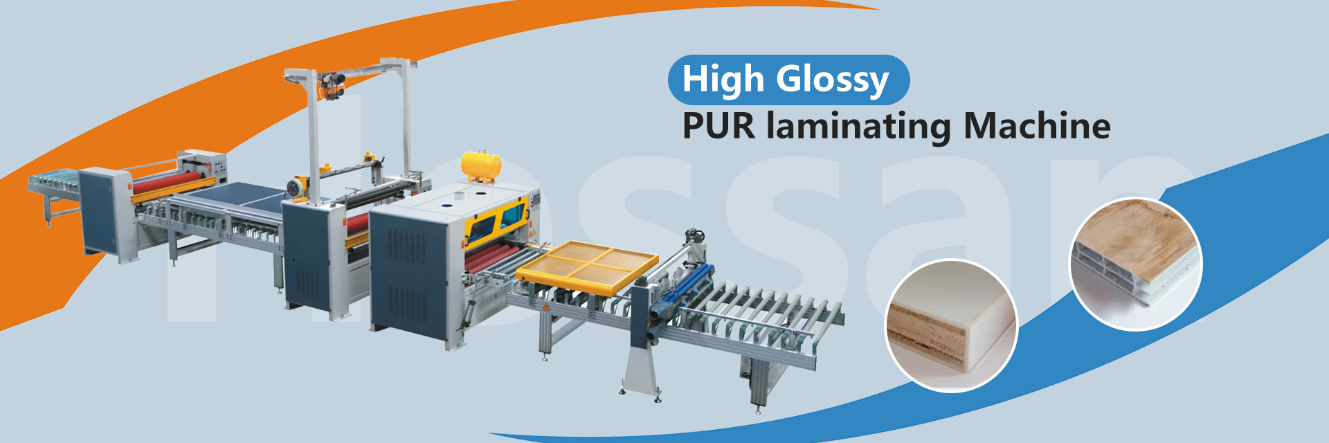 नई गर्म बिक्री पुर लैमिनेटिंग मशीन