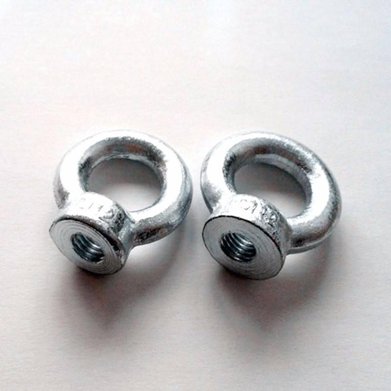 Śruby oczkowe do podnoszenia i nakrętki oczkowe, punkty do podnoszenia i mocowania