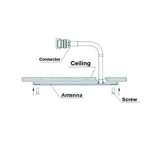 UHF 350-600MHz Ceiling mount Antenna