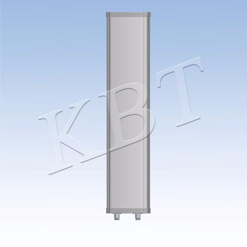 XPol 400-500MHz 65 درجة 14dBi هوائي لوحة