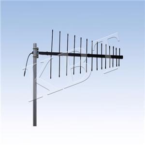 VPol 200-400MHz 9.5dBi Log-periodic Antenna