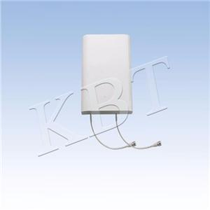 XPOL 698-2700MHz 2x7-8dBi 2W 140dbc support mural d'antenne