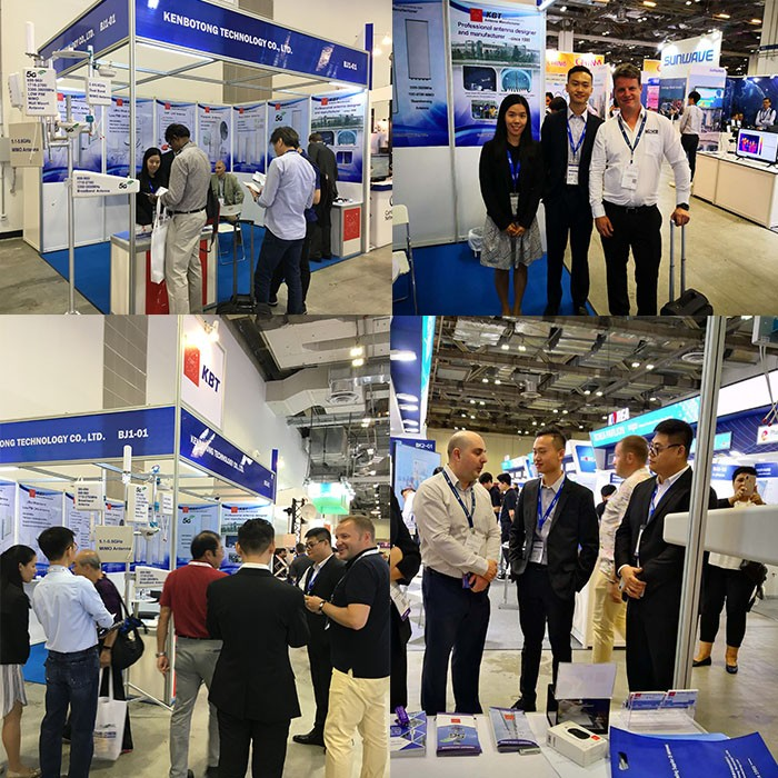 KBT exhibited at CommunicaAsia2019