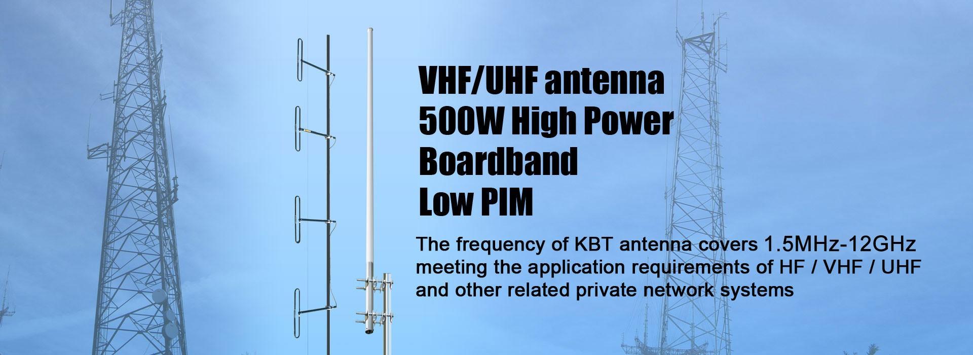 VHF / UHF antena