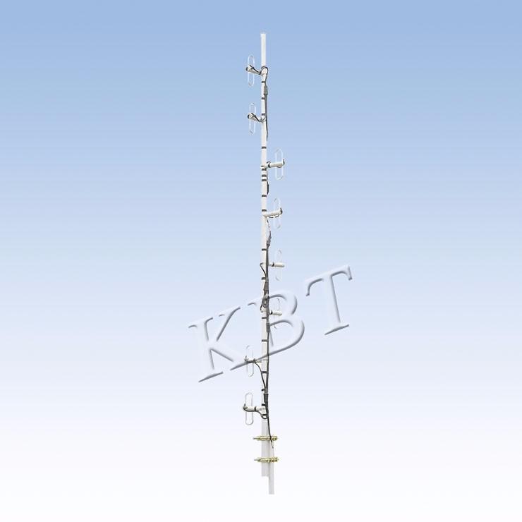 VPol 150MHZ 3-12dBi ثنائي القطب سلسلة هوائيات