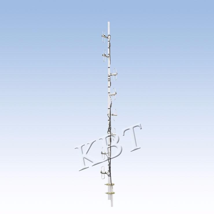 VPol 230MHz 5-15dBi ثنائي القطب سلسلة هوائيات