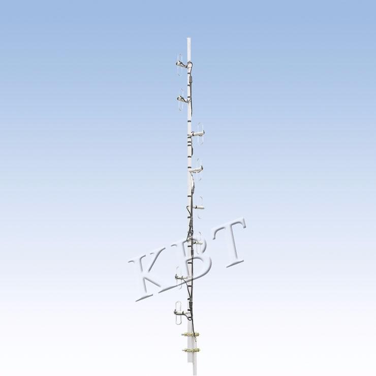 VPol بسرعة 400MHz 2-15dBi ثنائي القطب سلسلة هوائيات