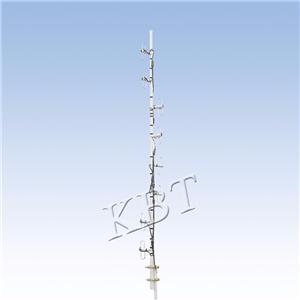 Vpol 400 MHz 2-15dBi dipolo Series Antenas