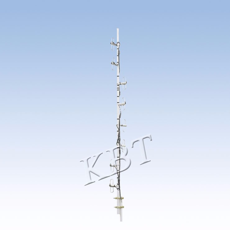 VPOL 350MHz的5-15dBi偶極天線系列
