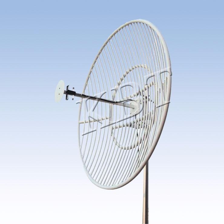 VPol 500MHz 15-17dBi Parabolic Antennas Siri