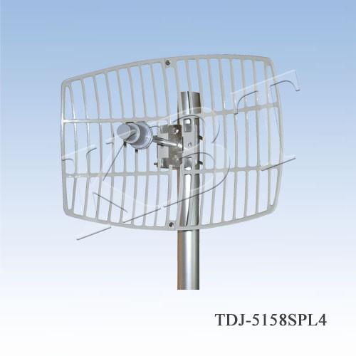 VPol 5.1-5.8GHz 24-30dBi مكافئ سلسلة هوائيات