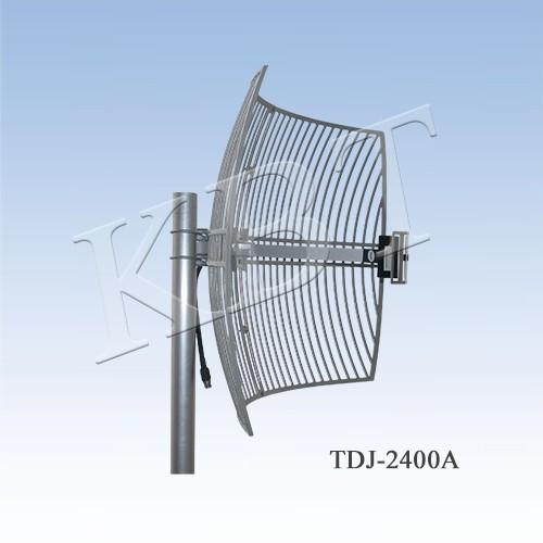 VPol 2.4GHz 24dBi Antena parabolică