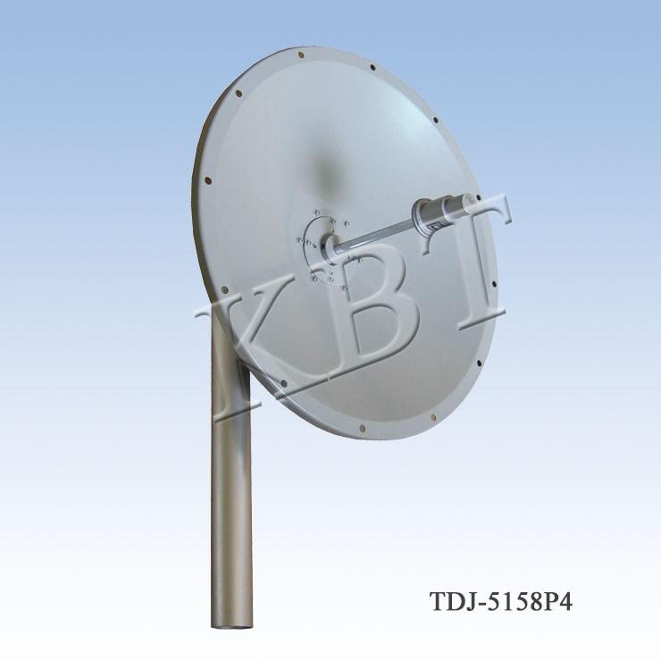 VPOL 5.1-5.8GHz 23-32dBi Piatto Antenne Series