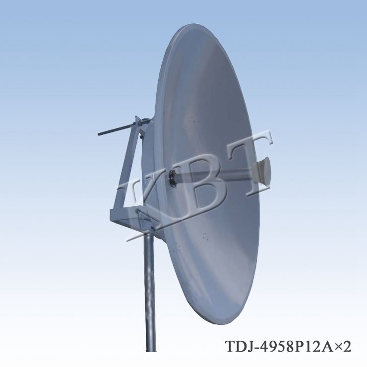 4.9-5.8GHz 34dBi wifi dish antennas