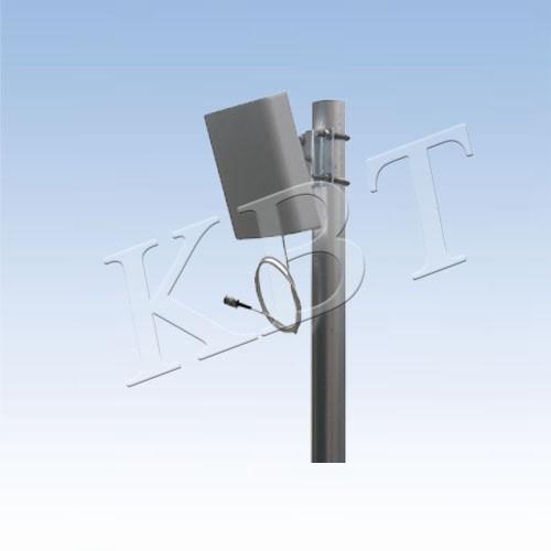 Vpol 2.4GHz / 5.8GHz 7dBi wi-fi exterior Antena plana