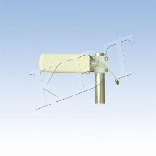 Antena LPDA VPol 2,4 GHz e 5 GHz 8dBi