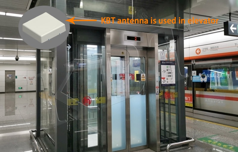 elevator antenna