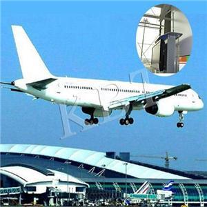 在白雲陽飛機升降系統採用KBT天線