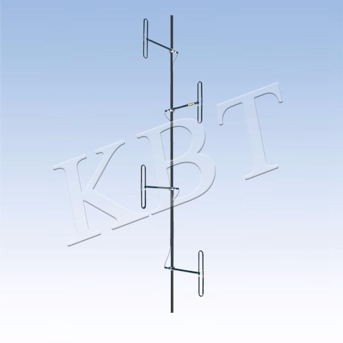 Antenne dipolaire VPOL 150MHz 8-12dBi 4