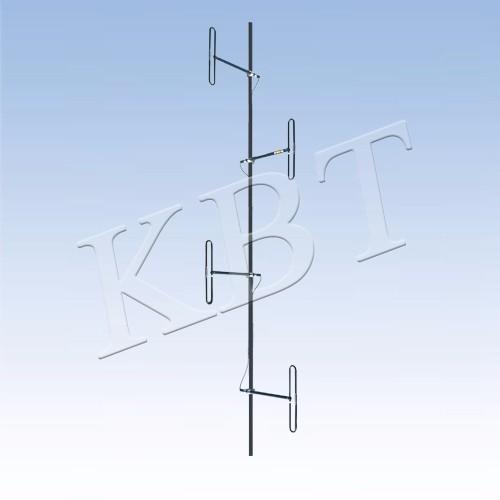 Antenne dipolaire VPOL 150MHz 8-12dBi 4 avec support JM-DB