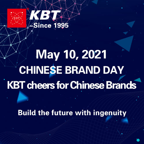 KBT cheers for Chinese Brands
