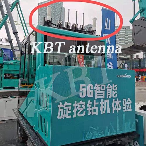 تستخدم KBT 5G antnna في آلة الحفر