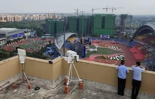 Sistem Zeobercom Anti UAV Pertahanan bantuan untuk menjalankan 2019 Chengdu Marathon