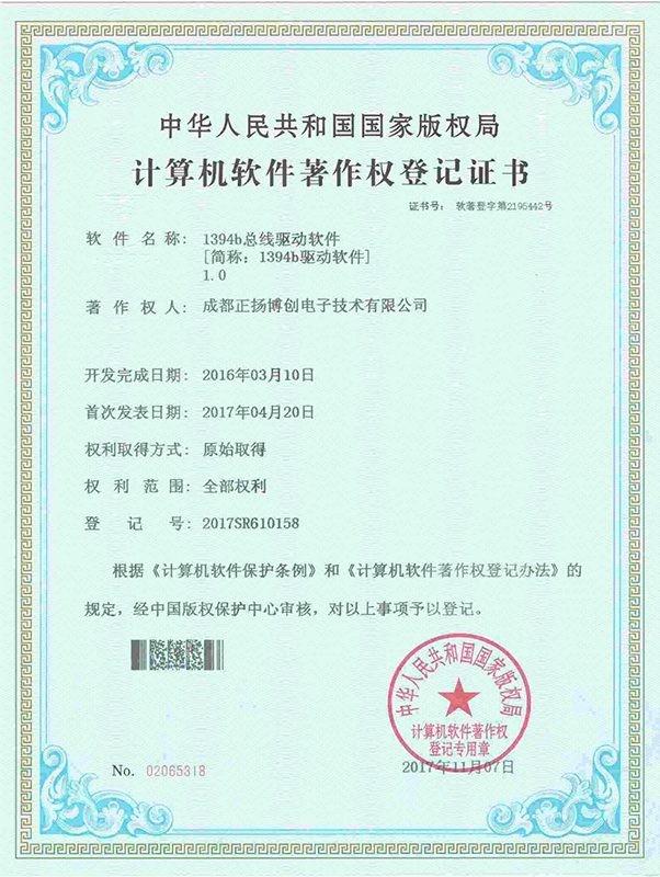 Software Copyright Register Certificate