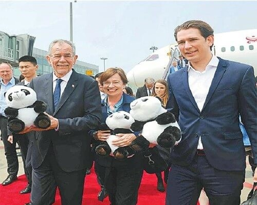 Zeobercom successfully completed its security mission during the Austrian President's visit to China