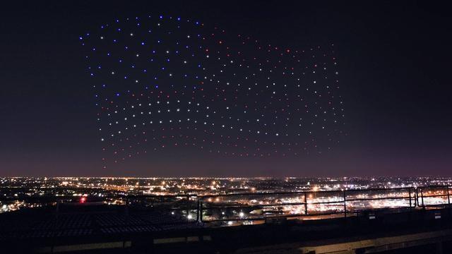 attaque d'essaim de drones