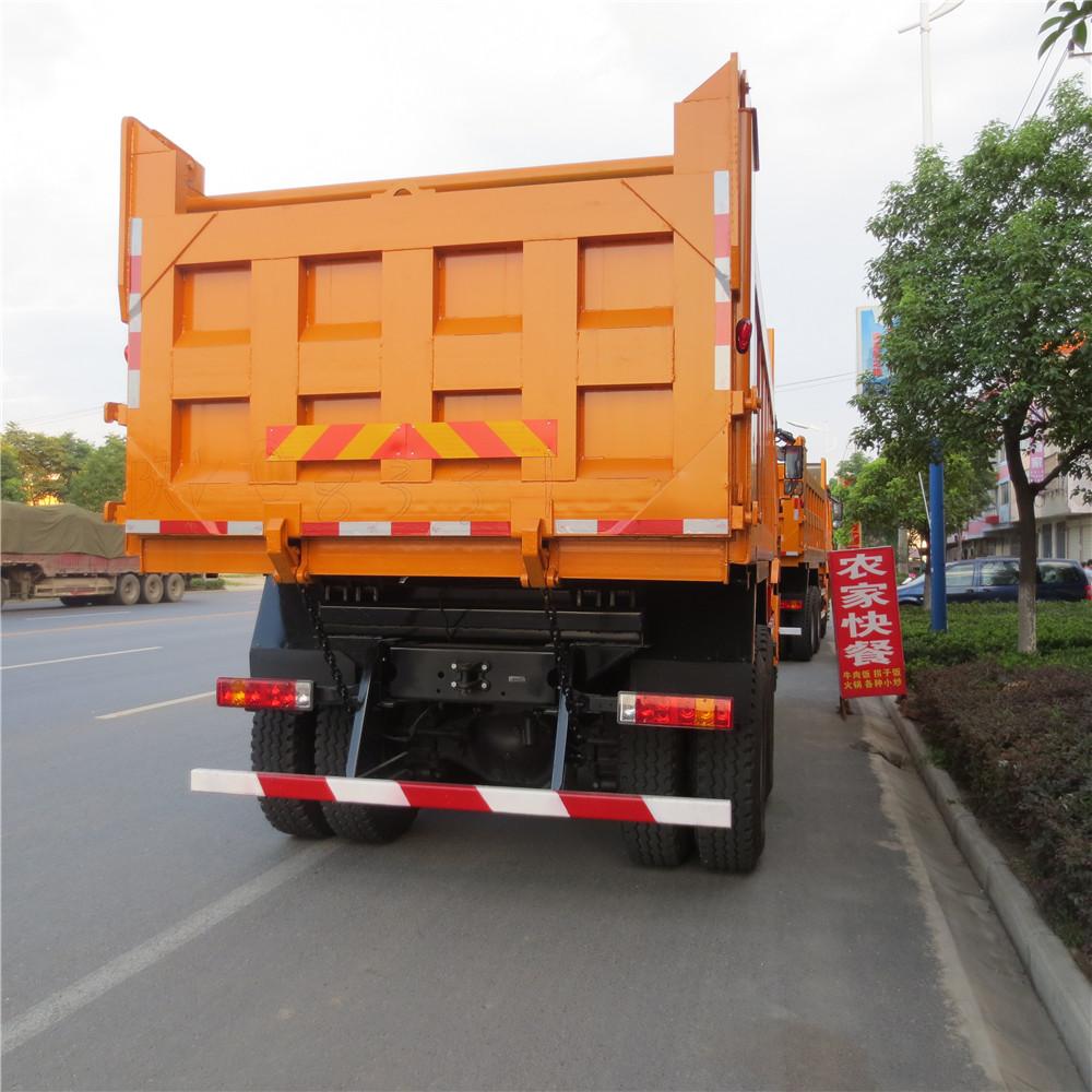 Original color Isuzu dump truck 6x4 cargo tipper truck