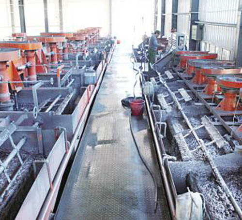 Beneficiation processing technology test and research of one Cu-Pb-Zn polymetallic sulfide ore