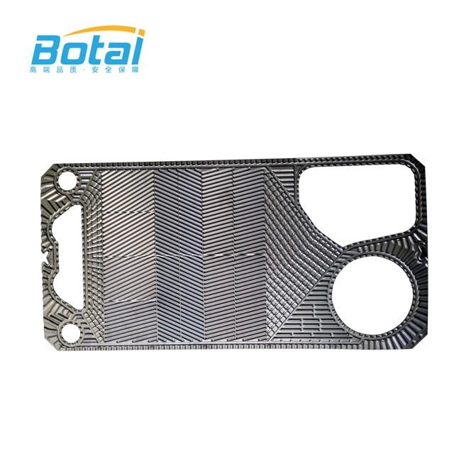 Semi Welded Heat Exchanger Plate