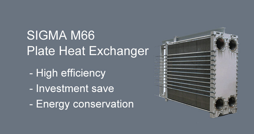 SIGMA M66 heat exchanger plate
