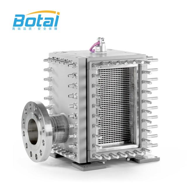 Natural Gas Full Welded Heat Exchanger