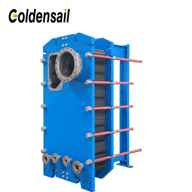 Semi Welded Plate Heat Exchanger Frame
