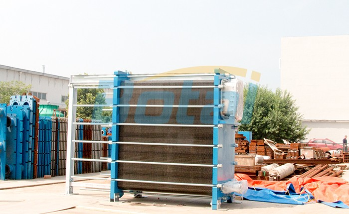 Our EC700 evaporator is continuously tested, arrange to deliver