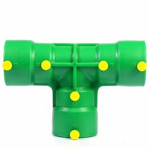 Electrofusion Hdpe Pipe Saddle Fitting HDPE Poly Pipe Reducing Coupling For Gas Station