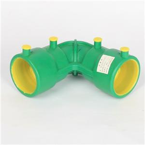Hdpe Butt Fusion Electrofusion Fitting Equal Pipe Coupling