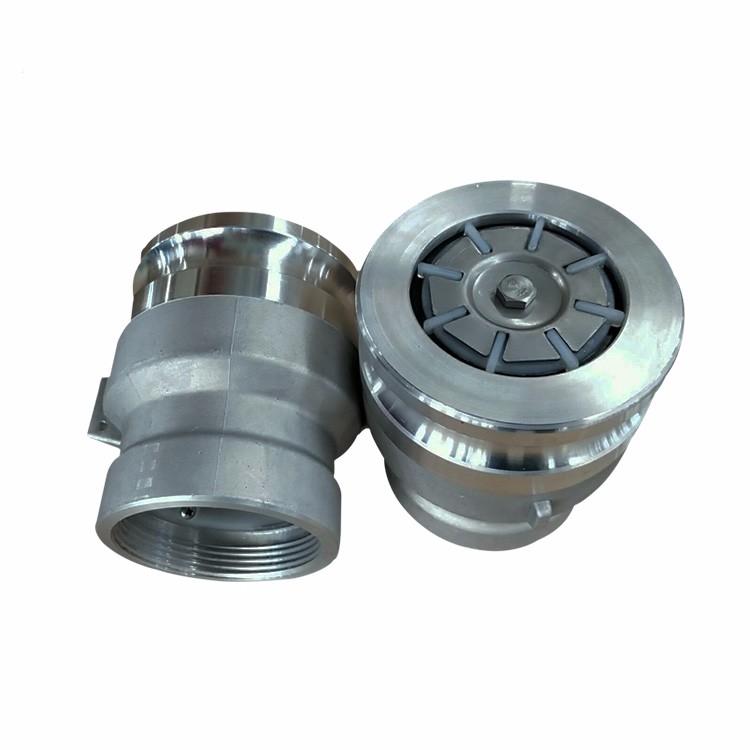 Clear Anodized Aluminum Vapor Recovery Adaptors