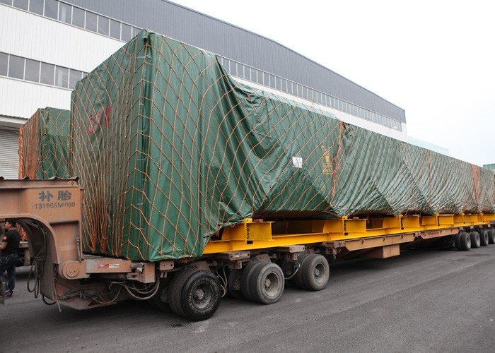 Delivery of Wuxi Boiler Iraq Basra Project Unit#1 HRSG Modules(2018.2.25)