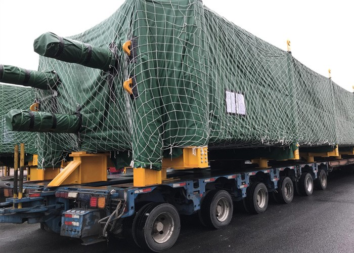 Delivery of NE OKPAI Porject HRSG Modules (2018.12.16)