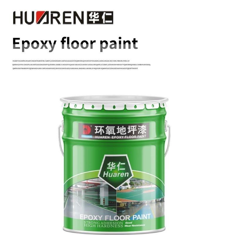 Green And Yellow Epoxy Floor Paint Self Leveling