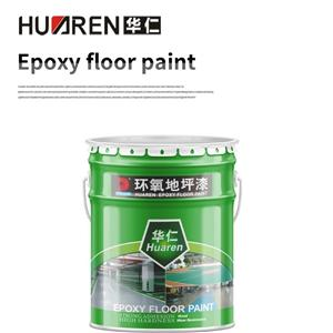 Green And Yellow Epoxy Floor Paint Self Leveling
