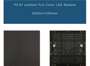 Vermietung LED P3.91 Outdoor-Display-Bildschirm