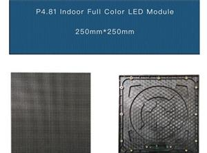 P4.81 rental indoor Led Screen