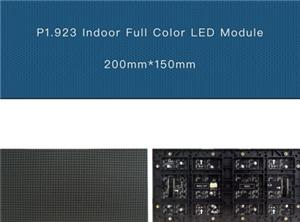 pantalla de visualización de interior P1.923 HD LED